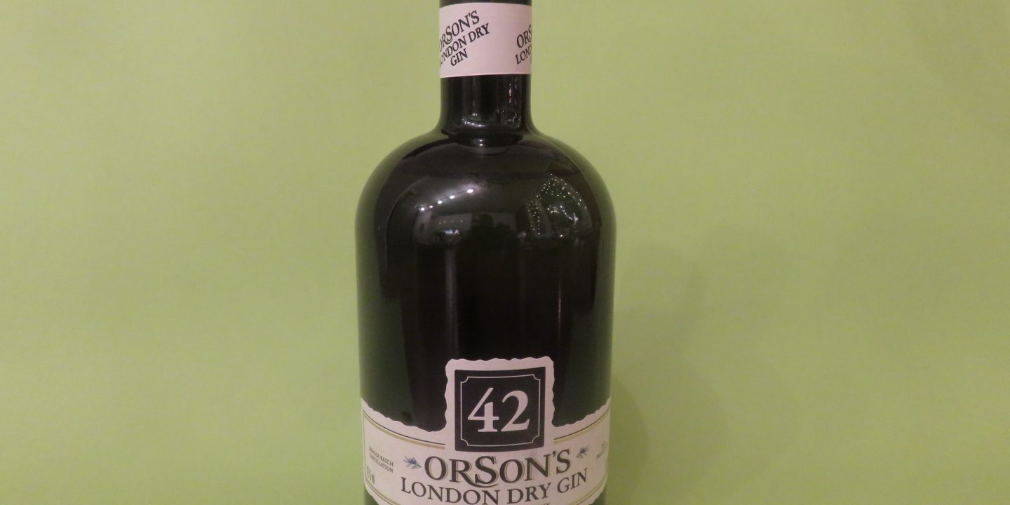orsons 42 Gin